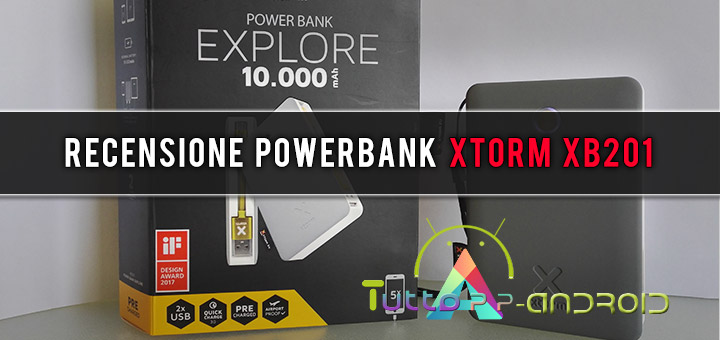 Photo of Recensione powerbank Xtorm XB201