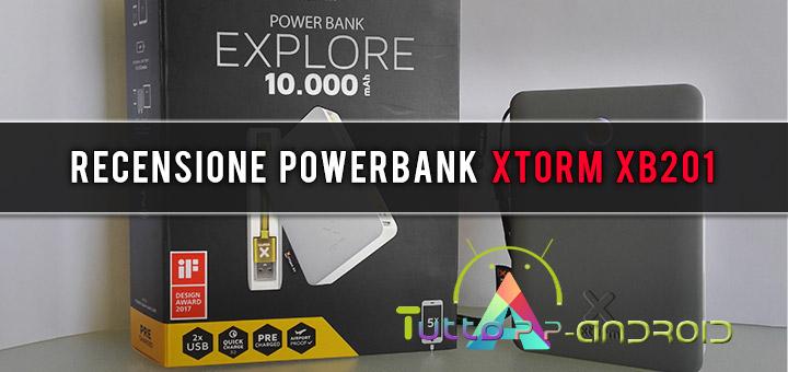 Recensione powerbank xTorm XB201