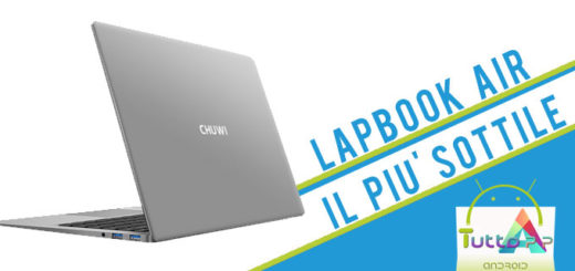 Chuwi lancia LapBook Air