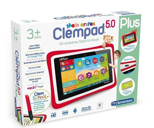 Clementoni 69481.5 Clempad Tablet per bambini (da 3 anni in su)