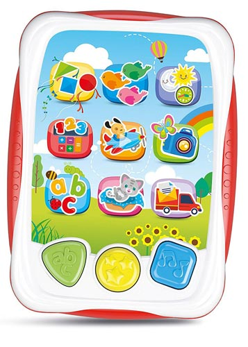 Il Mio Primo Tablet Clementoni (da 1 a 3 anni)
