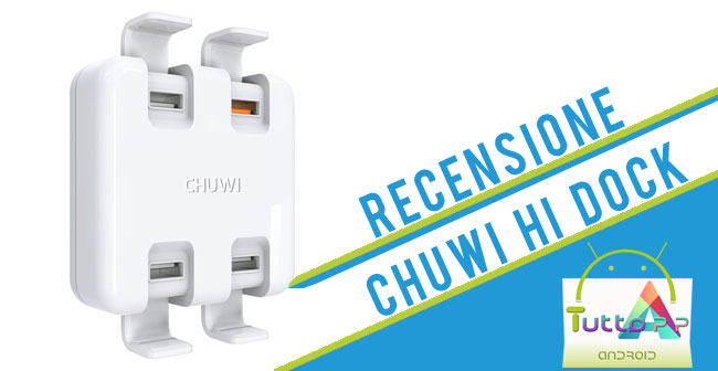 Photo of Chuwi Hi-Dock: recensione caricabatterie con 4 porte usb