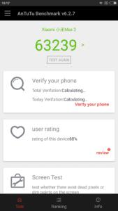 Recensione Xiaomi Mi Max 2 - AnTuTu Benchmark