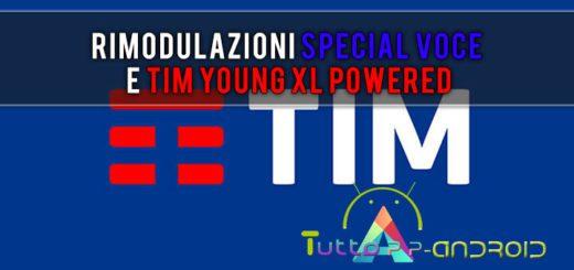 TIM rimodula Special Voce e TIM Young XL Powered