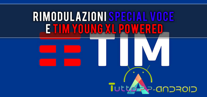 TIM rimodula Special Voce e TIM Young XL Powered