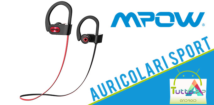 recensione auricolari sport Mpow