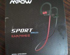 scatola Auricolari bluetooth Mpow sport