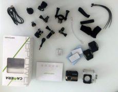 Camera DBPower 4k accessori
