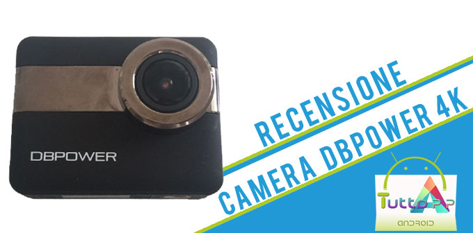 Recensione Action Camera 4K DBPOWER