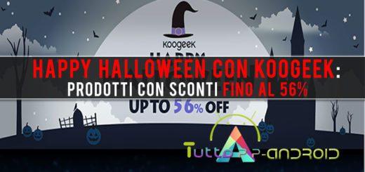 Happy Halloween con Koogeek: prodotti con sconti fino al 56%