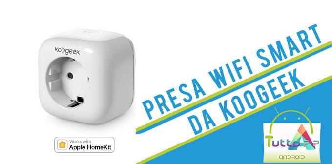 Photo of Koogeek Smart Plug su Cafago: sconto per Ottobre