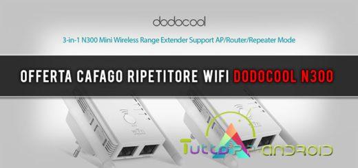 Offerta Cafago ripetitore di segnale WiFi Dodocool N300