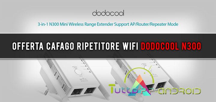 Photo of Offerta Cafago ripetitore di segnale WiFi Dodocool N300