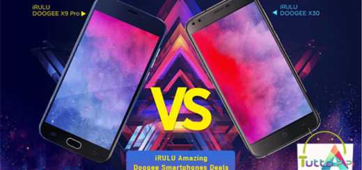 Offerta Irulu DOOGEE X30 e-X9 Pro