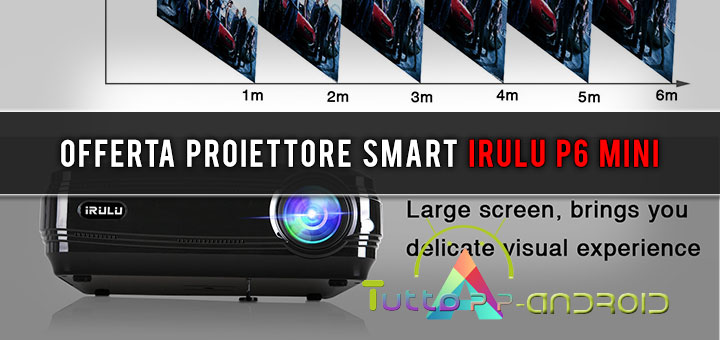 Photo of Offerta proiettore smart iRulu P6 mini