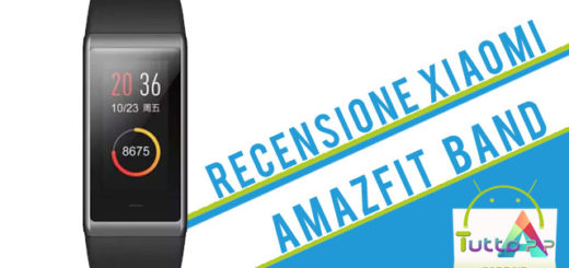 Recensione Xiaomi Amazfit Band by Huami
