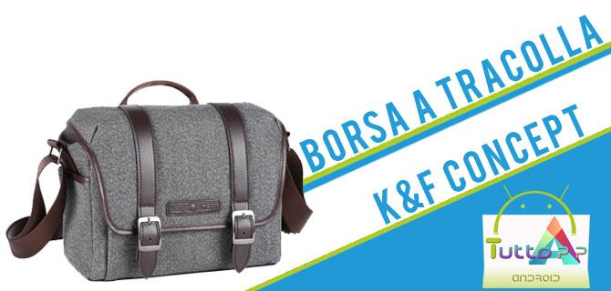 Photo of Recensione borsa a tracolla K&F Concept per fotocamere e altri device