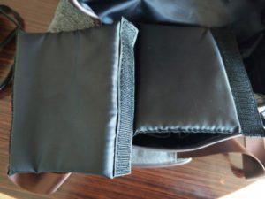 strappi interni borsa a tracolla K&F Concept