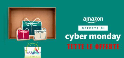 Amazon cyber monday tutte offerte