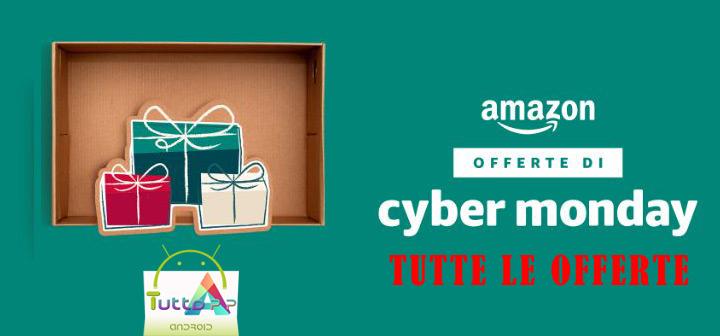 Photo of Cyber Monday 2017 Amazon: tutte le offerte del 27 novembre in anteprima
