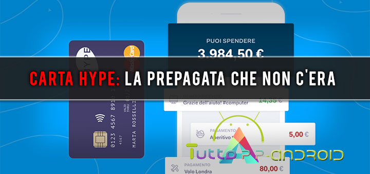 Photo of Carta Hype: la prepagata che non c'era