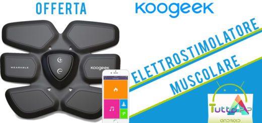 Koogeek, elettrostimolatore muscolare intelligente