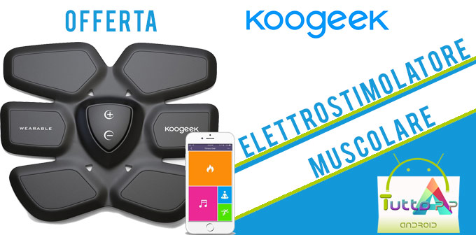 Photo of Koogeek elettrostimolatore muscolare intelligente: coupon Amazon