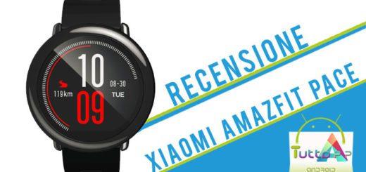 Recensione Xiaomi Amazfit Pace