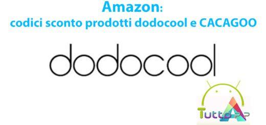 Amazon: codici sconto prodotti dodocool e CACAGOO