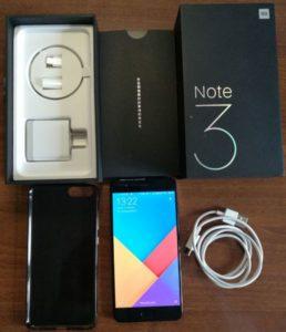Unboxing Xiaomi Mi Note 3