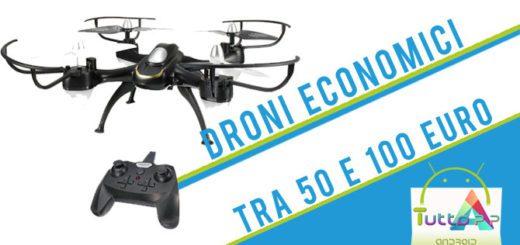 Droni economici migliori tra 50 e 100 euro