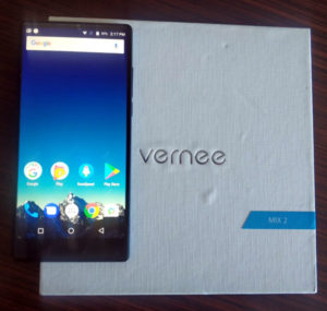 Display Vernee Mix 2