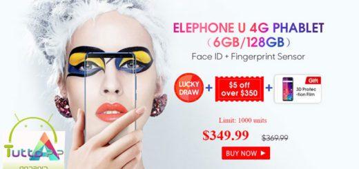 Elephone U su Gearbest: prezzo lancio di 290 euro