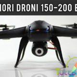 Migliori droni 150-200 euro: guida all'acquisto