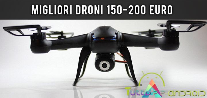 Photo of Migliori droni tra 150 e 200 euro • Consigli • Guida Aprile 2019