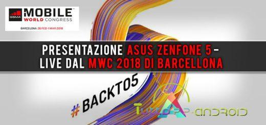 Presentazione Asus Zenfone 5 - Live dal MWC 2018 di Barcellona