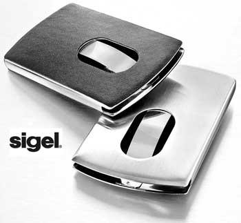 Sigel Vz121 Custodia per biglietti da visita