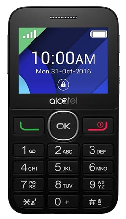 Alcatel 20-08G Senior Phone