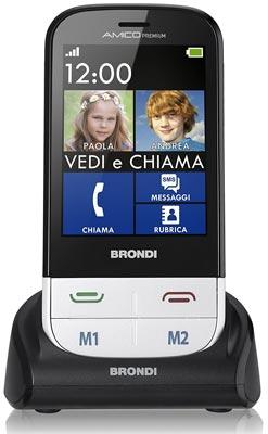 Cellulare per anziani Brondi Amico Premium