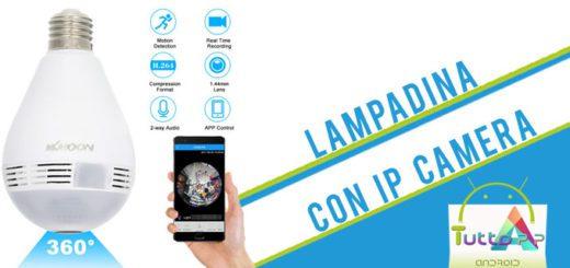 KKmoon Wireless IP camera e lampadina in offerta