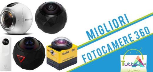Migliori fotocamere 360 gradi