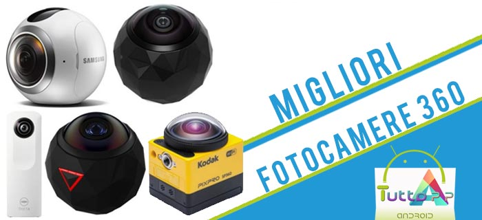 Photo of Migliori fotocamere 360 gradi – Guida all'acquisto e classifica 2018