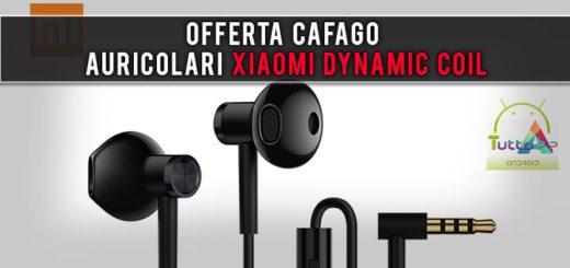 Offerta Cafago auricolari Xiaomi Dynamic Coil