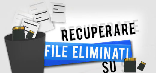 Recupero file cancellati da SD