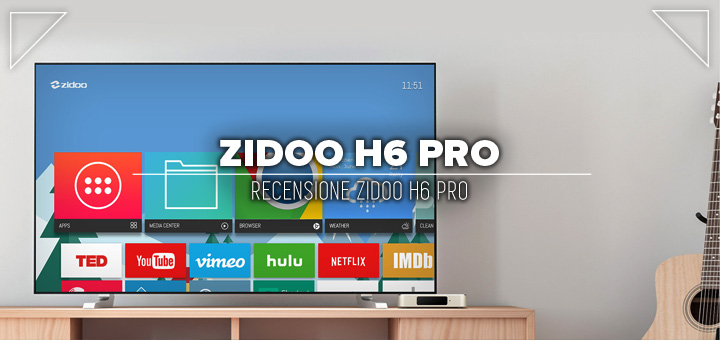 Photo of Recensione Zidoo H6 PRO • Box tv Android per Netflix HD e 4K