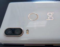 Dettagli fotocamera BQ Aquaris X2 Pro