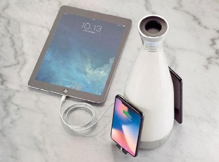 Gloo bottiglia ricarica wireless