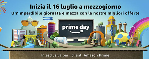 Amazon Prime Day 2018 - Immagine Ufficiale dell'evento