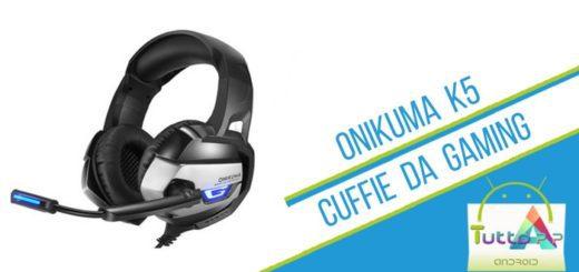Recensione ONIKUMA K5 Cuffie da Gaming