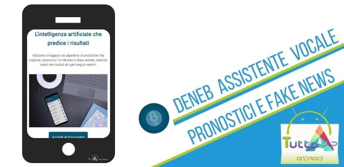 Deneb Assistente Vocale App